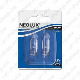 PIRN W5W 12V W2.1X9.5D BLISTER-2TK NEOLUX