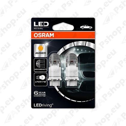 PIRN LED PREMIUM (P27/7W) 12V (S8W DC) W2.5X16Q KOLLANE BLISTER-2TK OSRAM