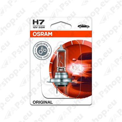 PIRN H7 55W 12V PX26D ORIGINAL BLISTER-1TK OSRAM