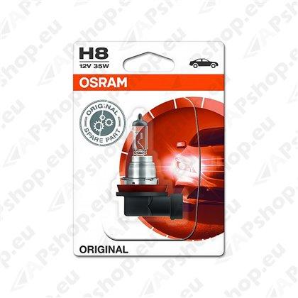 PIRN H8 35W 12V PGJ19-1 ORIGINAL BLISTER-1TK OSRAM