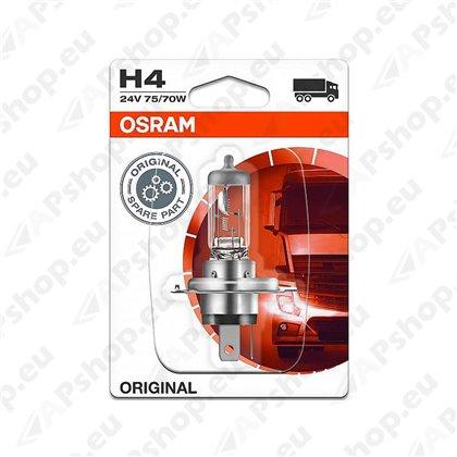 PIRN H4 75/70W 24V P43T ORIGINAL BLISTER-1TK OSRAM