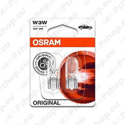 PIRN W3W 12V W2.1X9.5D LF ORIGINAL BLISTER-2TK OSRAM
