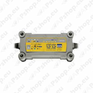 AKULAADIJA GYSFLASH 12A 12V 20-250AH(330AH) GYS