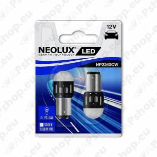 PIRN LED (P21/5W) 1.2W 12V BAY15D BLISTER-2TK NEOLUX