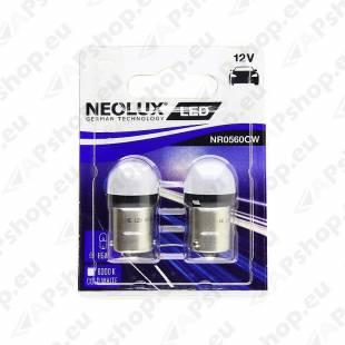 PIRN LED 0.8W R5W 12V BA15S BLISTER-2TK NEOLUX