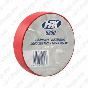 PVC- ELEKTRIKU TEIP 15MM/10M PUNANE ISOLEER HPX