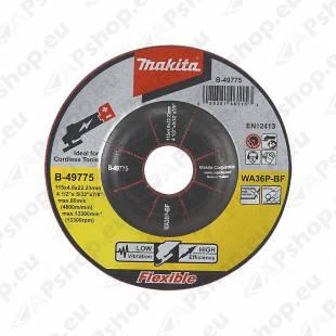LIHVKETAS 125X4 METALL/RST (INOX) 1TK MAKITA
