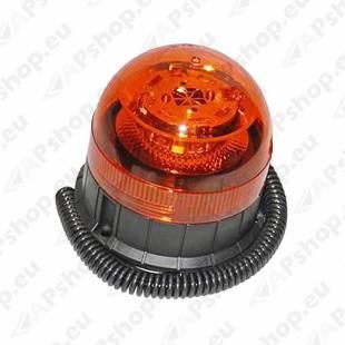KOLLANE VILKUR 12/24V LED. 3-PUNKTKINNITUS/MAGNET Ø125MM