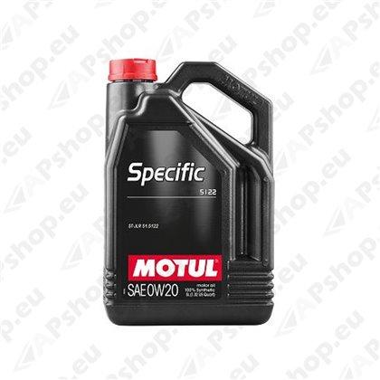 MOTUL SPECIFIC 5122 0W20 5L