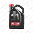 Vehicle engine oil Specific OEM