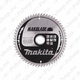 SAEKETAS 216X30X2.3MM 60T 5° RISTI. CLEAN CUT MAKITA