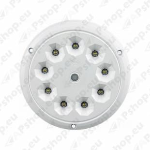 LWD2160 SALONGI SISEVALGUSTI ÜMAR 9-LED LÜLITIGA 142.5X6 12/24V IP65