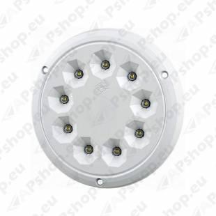 LWD2158 SALONGI SISEVALGUSTI ÜMAR 9-LED 142.5X6 12/24V IP65
