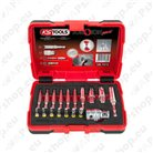 Torx drill bit sets with 1/4\ hex shank