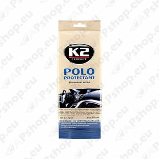K2 POLO PROTECTANT WIPES SALONGIPUHASTUSLAPID MATT 25TK