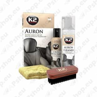 K2 AURON LEATHER CLEAN & CARE KIT NAHA PUHASTUS- JA HOOLDUSKOMPLEKT