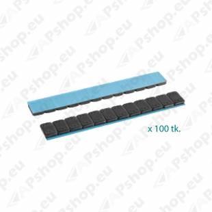 LIIMITAV TASAKAAL 4.0 MM. KARP 100X60GR. (12X5) FE.MUST (ECO)
