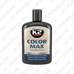 K2 COLOR MAX VÄRVIVAHA MUST 200ML
