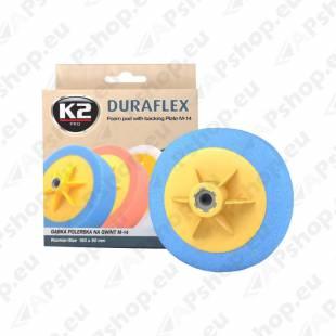 K2 DURAFLEX BLUE HARD ABRASIVE POLEERIMISPADI 150X50MM M14