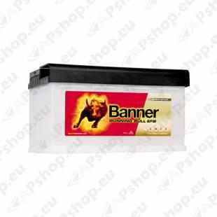 BANNER AKU RUNNING BULL EFB 80AH 315X170X190 - + 780A
