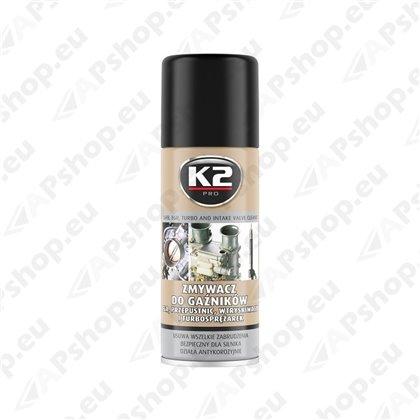 K2 CARB AND INTAKE VALVE CLEANER KARBURAATORI PUHASTUS 400ML/AE