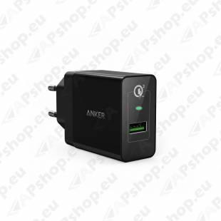 ANKER POWERPORT+ USB LAADIJA MUST 240V3.6-6.5V3A/6.5-9V2A/9-12V1.5A/5V2.4A