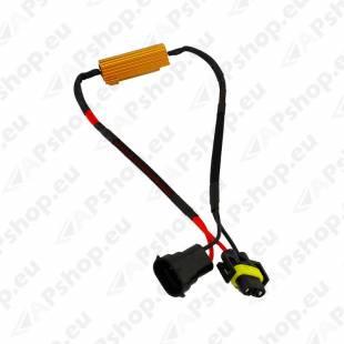 H8/H9/H11/H16 LED PIRNI CANBUS-TAKISTI 50W 12V 1TK
