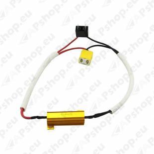 H7 LED PIRNI CANBUS-TAKISTI 50W 12V 1TK