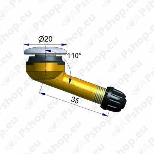 TL-VENTIIL VEOAUTO. (SCANIA R2112-2). AVA 15.7MM. PIKKUS 35 MM. NURK 110