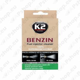 K2 BENZIN SISSEPRITSE PUHASTUSAINE BENSIINIMOOTORITELE 50ML
