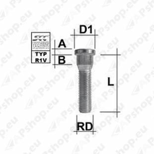 TIKKPOLT TP14X1.50/55/14.65 (P65/55. D15.80) M1415RE60C