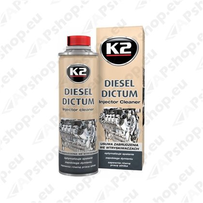 K2 DIESEL DICTUM DIISELSÜSTEEMI PUHASTUSAINE 500ML