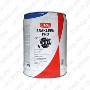 CRC BRAKLEEN PRO BRAKE CLEANER PIDURIPUHASTUS 20L
