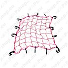 Rubber tie downs, tarpaulins and nets