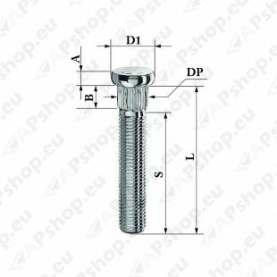 TIKKPOLT TP12X1.50/52/14.3 (P67. D14.3) CRP143A62