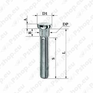 TIKKPOLT TP12X1.50/30/14.3 (P45. D14.3) CRP143A42