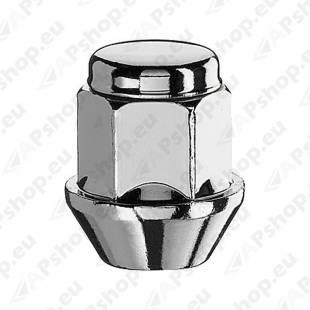 MUTTER M12X1.25/30/19 (KINNINE. P30. CH19) INOX PEA