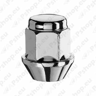 MUTTER M12X1.25/30/21 (KINNINE. P30. CH21) INOX PEA