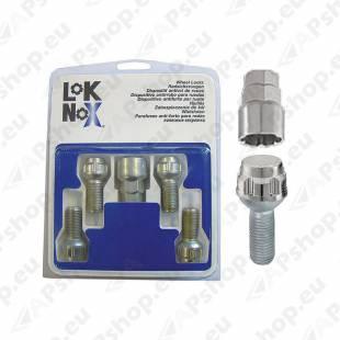 LUKUSTUSP. LOKNOX P12X1.50/26/17-19 (P26.4. CH17-19)