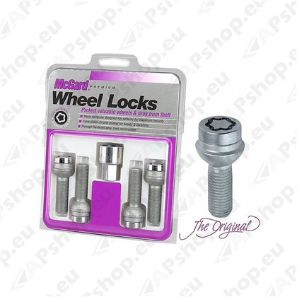 Alloy Wheel Locking Lock Bolts x4 For Mercedes C Class B2