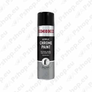 SIMONIZ SPRAY PAINT CHROME KROOM VÄRV 500ML/AE