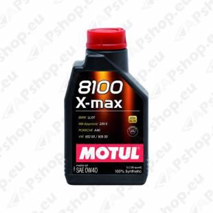 MOTUL 8100 X-MAX 0W40 1L