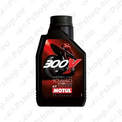 MOTUL 300V FACTORY LINE ROAD RACING 10W40 1L