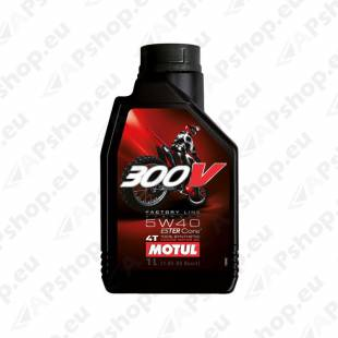 MOTUL 300V FACTORY LINE OFF ROAD RACING 5W40 1L