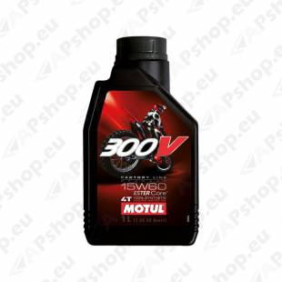 MOTUL 300V FACTORY LINE OFF ROAD RACING 15W60 1L