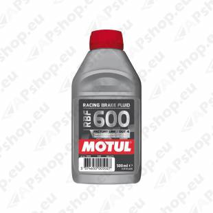 MOTUL RBF 600 FACTORY LINE 312°C 0.5L DOT4 PIDURIVEDELIK