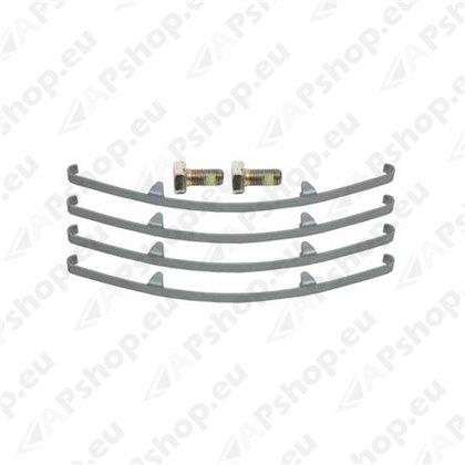 Pro Braking PBC8040-TPU-GOL Braided Clutch Line Transparent Purple Hose /& Stainless Gold Banjos