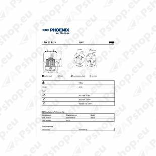 PHOENIX SAF/KRONE PLAST.3229003800. 2621V 170MM