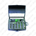 Screwdriver sets with interchangeable bits