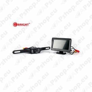 """BRIGHT Backup Camera System 4.3"""" 1-92257"""